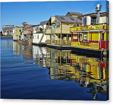 Fisherman's Wharf Canvas Print by Marilyn Wilson