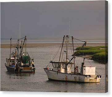 Fishermen Boats Canvas Print by Juergen Roth