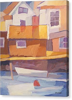 Fishermen Village Canvas Print
