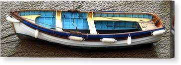 Fishing Boat Canvas Print by Svetlana Sewell