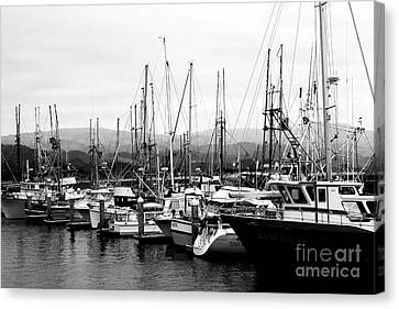 Fishing Boats . 7d8208 Canvas Print by Wingsdomain Art and Photography