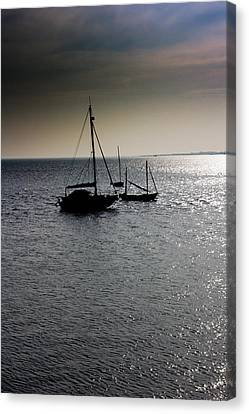 Fishing Boats Essex Canvas Print
