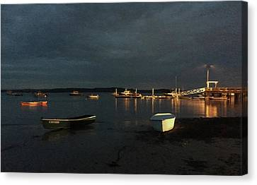 Canvas Print - Fishing Boats by Randi Shenkman