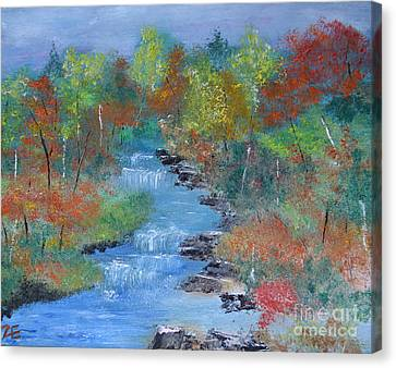 Fishing Creek Canvas Print