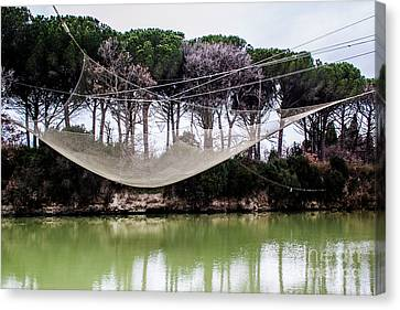 Fishing Net Canvas Print