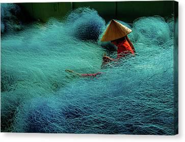 Canvas Print - Fishnet by Okan YILMAZ