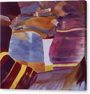 Fisticuffs Canvas Print by Ken Yackel