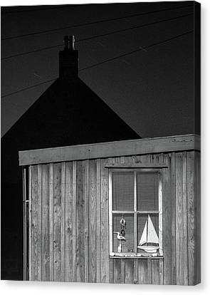 Fittie By Night Canvas Print by Dave Bowman