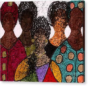 Five Alive Canvas Print by Angela L Walker