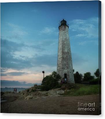 Five Mile Point Lighthouse Canvas Print
