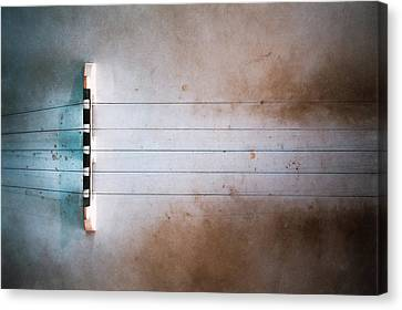 Five String Banjo Canvas Print by Scott Norris