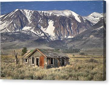 Fixer Upper With A View Canvas Print by Donna Kennedy