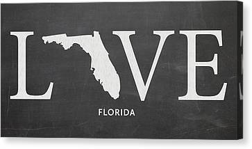 Fl Love Canvas Print by Nancy Ingersoll