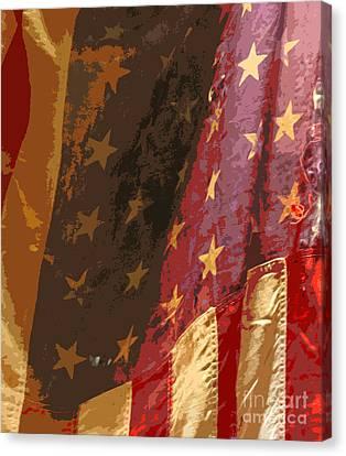 Flag 16 Canvas Print by Gary Everson