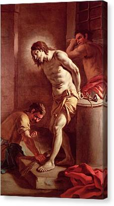 Flagellation Of Christ Canvas Print by Pietro Bardellini