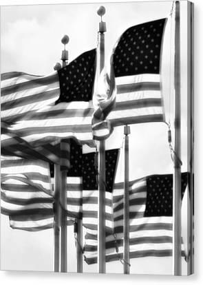 Flags Canvas Print by John Gusky
