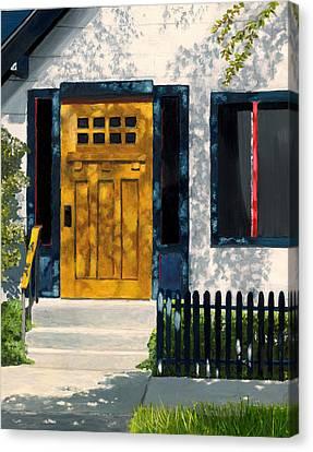 Flagstaff Bungalow Canvas Print