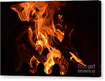 Flame 1 Canvas Print