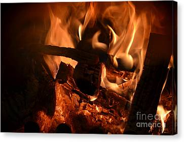 Flame 2 Canvas Print