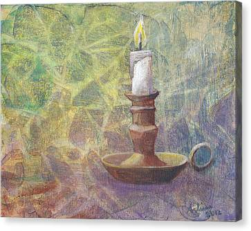 Flame Of Hope Canvas Print by Arlissa Vaughn