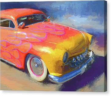 Appleton Art Canvas Print - Flamed Mercury by David King