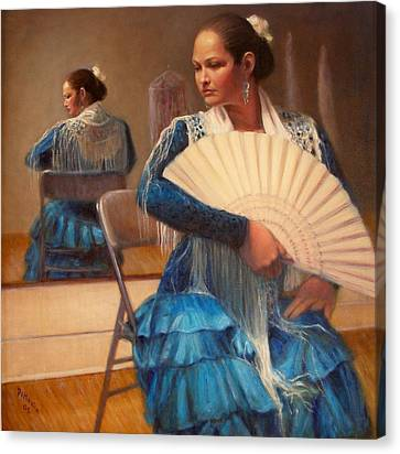 Flamenco 1 Canvas Print by Donelli  DiMaria