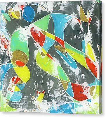 Flamenco 2 Canvas Print