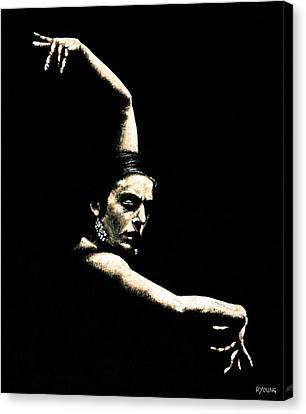Flamenco Arms Canvas Print by Richard Young
