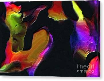 Flamenco Canvas Print by Carole Thivierge