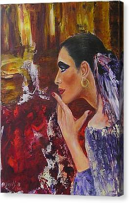 Flamenco Dancer  Mb Canvas Print