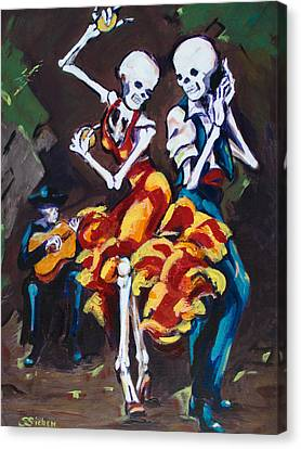 Flamenco Dancers II Canvas Print