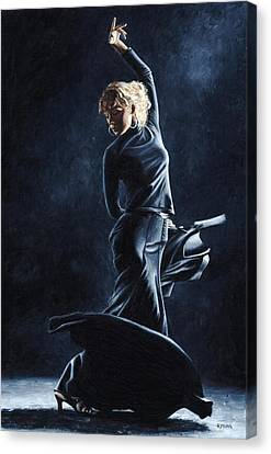 Flamenco Dexterity Canvas Print by Richard Young