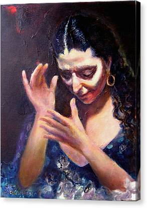 Flamenco Soul Canvas Print