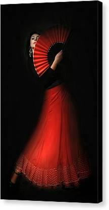 Flamenco Canvas Print by Viktor Korostynski