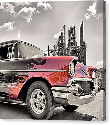 Flamin' 57 Canvas Print by DJ Florek