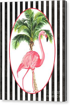 Flamingo Amore 7 Canvas Print