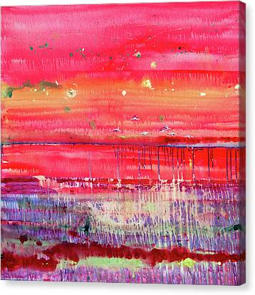 Flamingo Vlei  Canvas Print