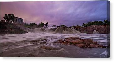 Flash Flood Canvas Print by Aaron J Groen