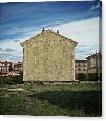 Architecture Canvas Print - Flat House #architecture #building by Rafa Rivas