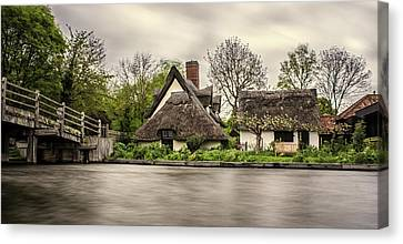 Flatford Mill Canvas Print by Martin Newman