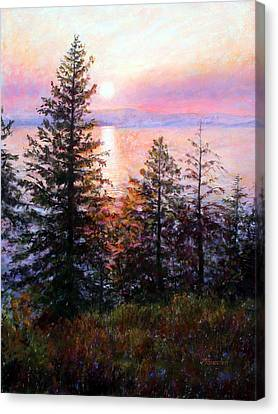 Flathead Lake Canvas Print