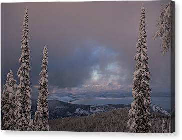 Flathead Winter 2016 Canvas Print