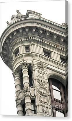 Flatiron Building Detail Canvas Print by David Bearden
