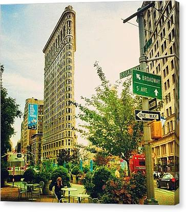Flatiron Canvas Print by Luke Kingma