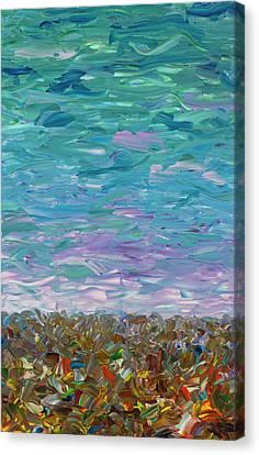 Flatland - Cloudy Day Canvas Print by James W Johnson