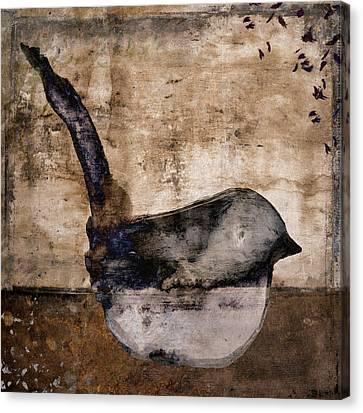 Fledgling Canvas Print by Carol Leigh