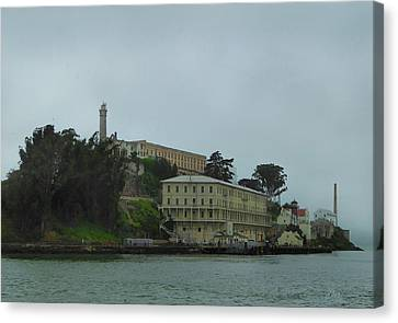 Alcatraz Canvas Print - Fleeting Hope by Gordon Beck