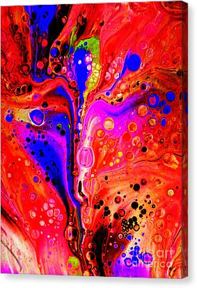 Merging Canvas Print - Flemenco Dancer by Trudee Hunter