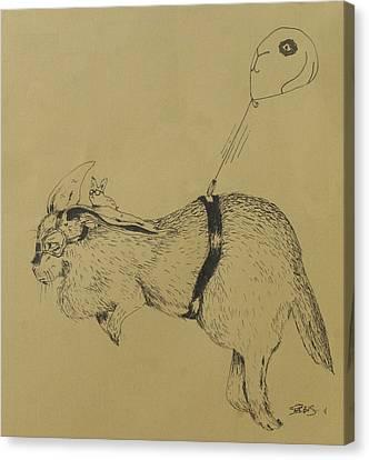 Flemish Zeppelin Canvas Print by InKibus