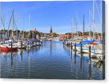 Flensburg - Germany Canvas Print by Joana Kruse